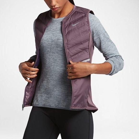 c474e64b6 Nike Jackets & Coats | Aeroloft 800 Running Vest | Poshmark